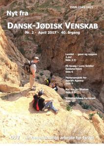 Forside - Nyt fra Dansk-Jødisk Venskab - Nr. 2 - April 2017 - 40. årgang