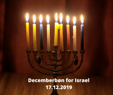 Decemberbøn for Israel 17.12.2019